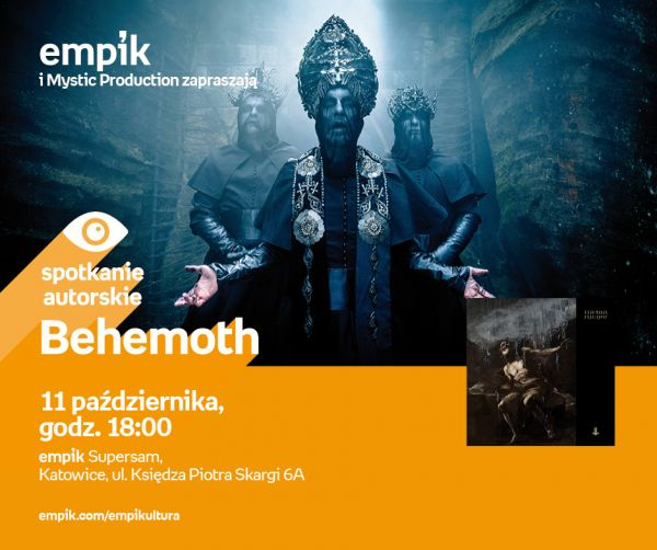 Behemoth w Empiku w Supersamie